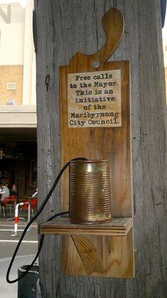 public art or outrage? Yarraville, Melbourne by *carolion*, via Flickr