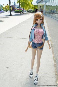Mirai Suenaga Smart Doll by matsuren_