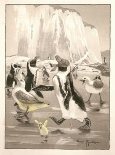 """from """"The Animal Game Book"""", pub. George Allen, London, 1903. Illustrations by Harry Rountree."""