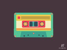 Casette tape illustration ^_^