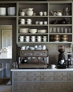 this is my ideal kitchen..espresso!!