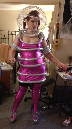 Hey, I found this really awesome Etsy listing at http://www.etsy.com/listing/151885458/space-girl-costume-with-helmet-dress-and