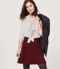 Primary Image of Sweetheart Tie Neck Tunic Blouse