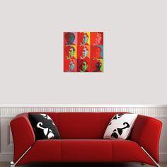 WARHOL - Self portrait 50x50 cm #artprints #interior #design #art #prints #Warhol  Scopri Descrizione e Prezzo http://www.artopweb.com/autori/andy-warhol/EC21762