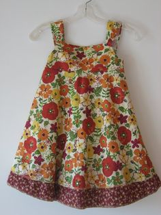 Double Hem Sundress by GoatgirlCalicos on Etsy