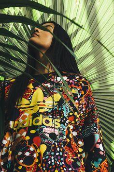 Farm for Adidas Originals. #fashion #brazilianness www.brazilianness.com