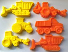Dump Truck Construction Crayons,  Great Party or Birthday Favor