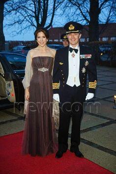 Reines & Princesses: Bal de l'académie navale, Copenhague