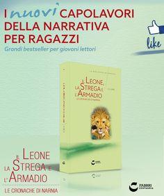 IL LEONE, LA STREGA E L'ARMADIO #edicola #ragazzi #libri #narrativa #letture