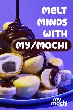 Fun Baking Recipes, Snack Recipes, Snacks, Chocolate Cream, Chocolate Chips, Kisses Recipe, Yummy Treats, Yummy Food, Mochi Ice Cream