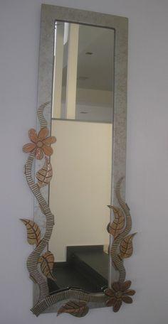 .-Δείγμα απ τη μεγαλύτερη  γκάμα χειροποίητων καθρεφτών στην Ελλάδα. .-Το σύνολο μπορείτε να το δείτε στο/// www.x-esio.gr Wood Mirror, Mirrors, Oversized Mirror, Handmade, Home Decor, Hand Made, Decoration Home, Room Decor, Home Interior Design