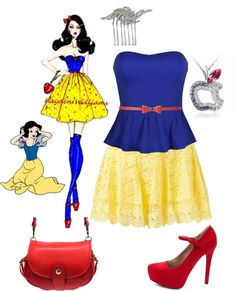 """Snow White"" by ethemuse on Polyvore"
