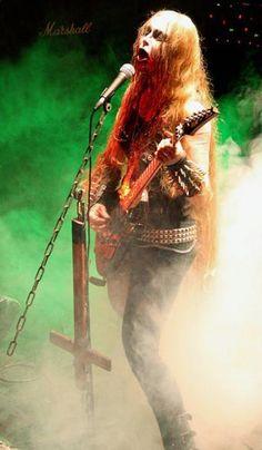 Onielar (Yvonne Wilczynska) from Darkened Nocturn Slaughtercult