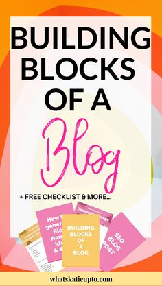 Improve your Blog by learning what essential Building Block of a Blog you need and my be lacking right Now! Check out this Freebie and and use the 20+ Ideas on how to improve your Blog today!!! GO NOW!   blogging tips, blog advice, how to set up a blog, blog essentials, freebie library, building blocks,   #bloggingtips, #blogtips #blogadvice #blogessentials #howtostartablog  Comments