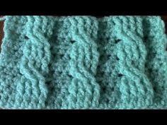 Crochet Stitches, Crochet Patterns, Crochet Videos, Loom Knitting, Youtube, Celtic, Blanket, Cardigans, Knitting Patterns
