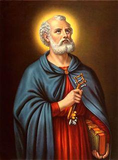 San Pedro el primer Papa con las llaves del reino de los cielos