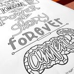 Our Lord's Prayer curriculum will guide children and people of all ages through a deep and new understanding of the beautiful and traditional prayer. Our Lord's Prayer, Interactive Poster, Sermon Series, Vacation Bible School, Ministry, Curriculum, Hand Lettering, Amen, Coloring Pages