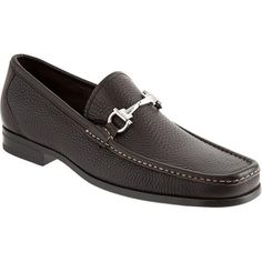 345b7d66a40 Salvatore Ferragamo Magnifico Men Shoes Leather underlay apron toe bit  loafer on leather sole from Salvatore Ferragamo. Made in Italy Availab