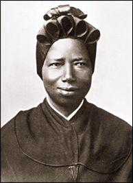 Saint Josephine Margaret Bakhita (From Darfur, Sudan) Canonized by John Paul II in 2000