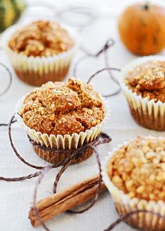 muffins de calabaza y canela by Nukysan, via Flickr
