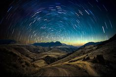 Long Exposure Photography Of The Stars By Ben Canales