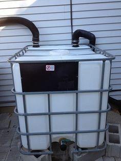How to Create a Heavy Duty 275 Gallon Rain Barrel From www.rethinksurvival.com #survival #waterstorage #emergency