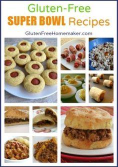 Super Bowl Recipes   The Gluten-Free Homemaker