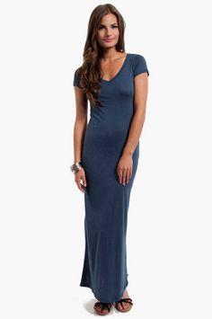 Casual Maxi Dress $26 at www.tobi.com