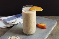 Peach Pie Smoothie  | MyFoodDiary.com