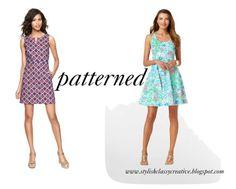 On the blog: Graduation dress ideas: Patterned