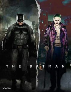 I really can't wait for a movie like this in the future. Ben Affleck and Jared leto as the batman and the joker