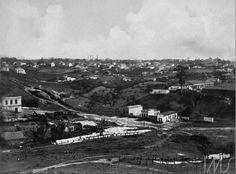 O Vale do Saracura, futura Avenida 9 de Julho, 1910. Autor: Vicenzo Pastore