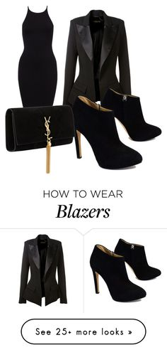 """Untitled #270"" by magiclovemagic on Polyvore featuring Alexandre Vauthier, Giuseppe Zanotti and Yves Saint Laurent"