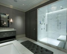 bath Master Bathroom Contemporary Bathroom Chicago バスルーム