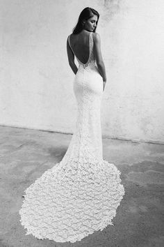 The Gia wedding dress by Grace Loves Lace featured on LOVE FIND CO.