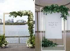 Rachel and Trent's elegant yet  modern minimalist wedding had a dreamy white palette with hints of grey and charcoal, greens from foliage and a touch of gold. Wanting a venue close to the water, to bring a sense of calmness to the day,  Carousel in Albert Park was the perfect venue with its uninterrupted water views and city skyline. Rachel stunned in two different gowns on her special day; the first an ethereal Steven Khalil gown for the ceremony, then for the reception a classic Hayley…