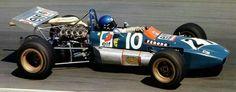 1971 Pau GP : Patrick Depailler, Tecno-Ford TF71 #10, Equipe Elf Tecno. (ph: racingmania.org)
