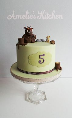 Cheeky little gruffalo - Cake by Helen Ward