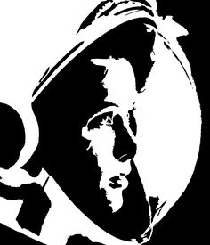 simple astronaut stencil - photo #31