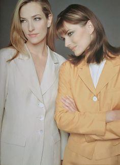 Tatjana and Paulina - Episode 1996 Tatjana Patitz, Paulina Porizkova, Supermodels, Blazer, Coat, Jackets, Women, Fashion, Down Jackets