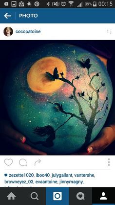 Belly Belly Painting, Baby Bumps, Body Art Tattoos, Pregnancy Announcements, Bedroom, Bebe