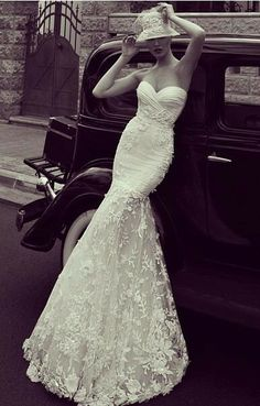 vintage wedding dress u would wear this one on my wedding love it ! Wedding Dress 2013, Wedding Bridesmaid Dresses, Dream Wedding Dresses, Wedding Gowns, Lace Wedding, Wedding Vintage, Bridesmaids, Up Girl, Occasion Dresses