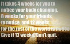 Always moving forward!