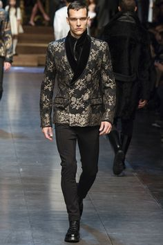 ff3660add335a Dolce Gabbana FW 2015 16 Moda Para Caballero, Estilo De Hombre, Ropa De  Hombre
