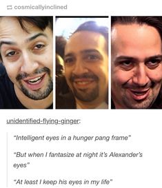 Lin-Manuel Miranda everyone This man is a piece of art