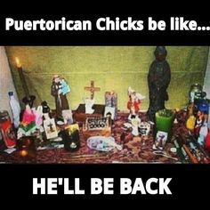 Puertorican chicks be like ... Haha!