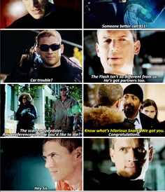 """""""The scarlett speedster. Any preference on how you'd like to die?"""" - Captain Cold #TheFlash"""
