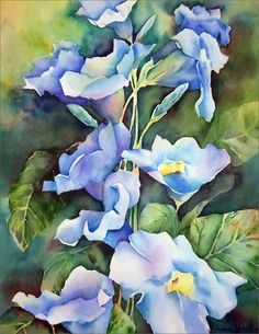 watercolor floral greeting cards | ... > Business Greeting Cards > Note Cards > Watercolor Floral Cluster
