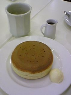六花亭 : ホットケーキ
