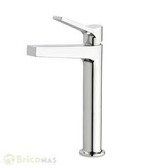 Grifo de lavabo alto serie Twit Galindo - Bricomas - VER PRODUCTO: http://bricomas.com/producto/grifo-de-lavabo-alto-serie-twit-galindo/